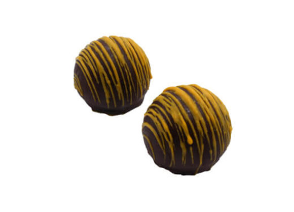 CHOCOLATE TRUFFLE, HONEYCOMB - 6PC