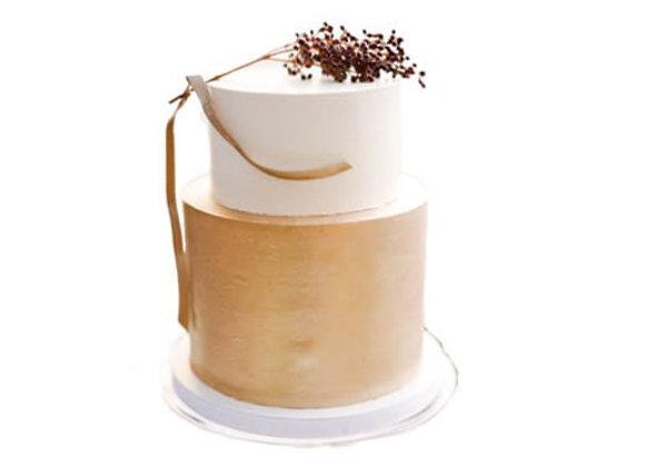 Wedding cake 2 Tier