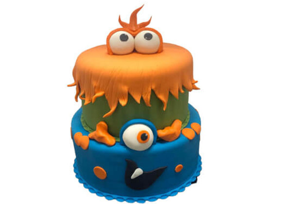 Kids Cake - MonSter INC