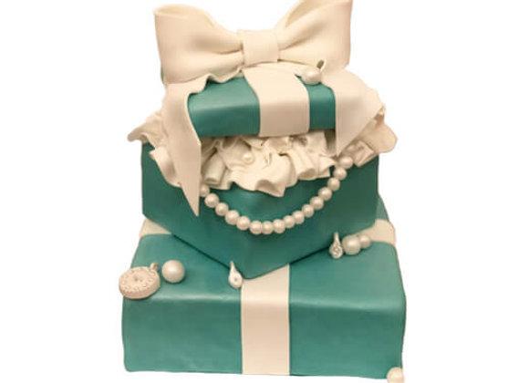 B'fast @ Tiffany's custom cake