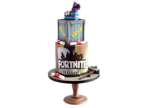 Kids Cake Fortnite