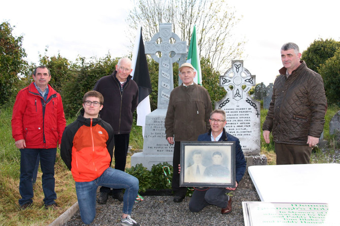 100th Anniversary Commemoration of                                         Lt. Michéal O'Shea: