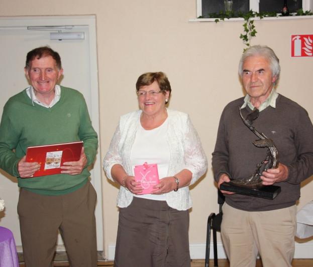 Martin, Brid & Patjoe do the honours.