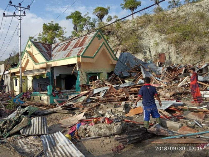 Indonesian Tsunami: