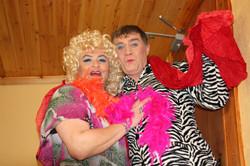 Theresa & John as Panti & Rio Rita.