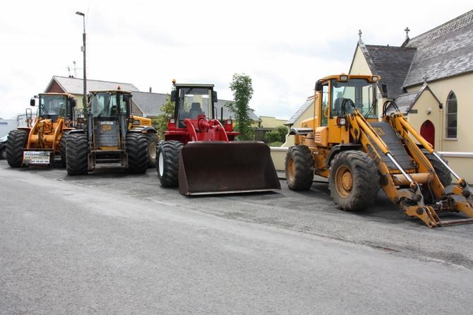 Tractor Run for 'Slim Jim'