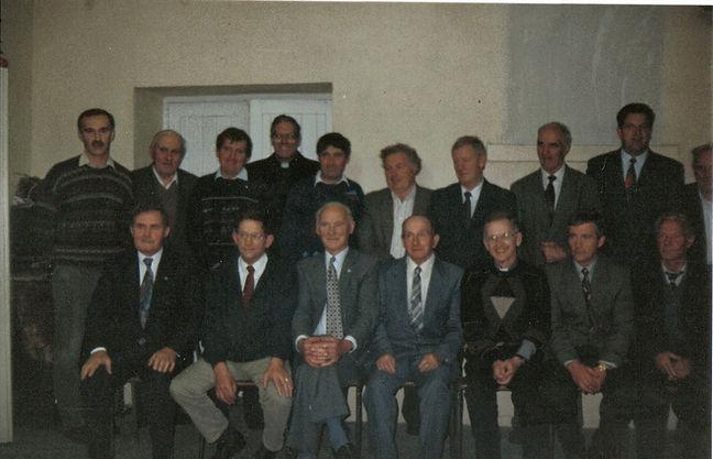 Presenation to Fr Cussen October 1996