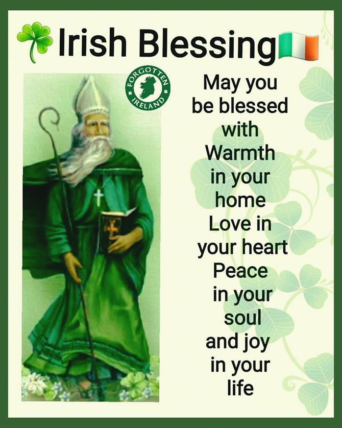 St. Patrick's Day Wishes to All: