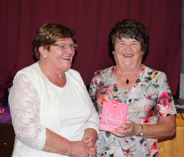 Brid presents a Memento to Mary