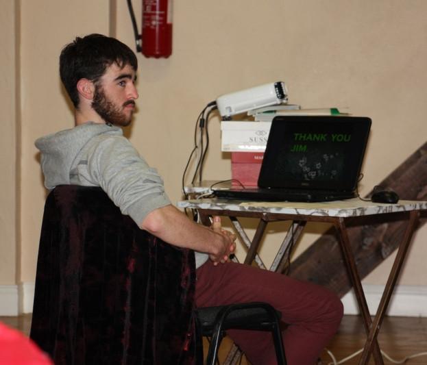 Eimhin O'Regan -Presentationn