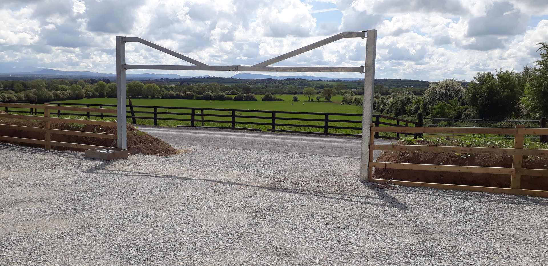New Barrier in Car Park