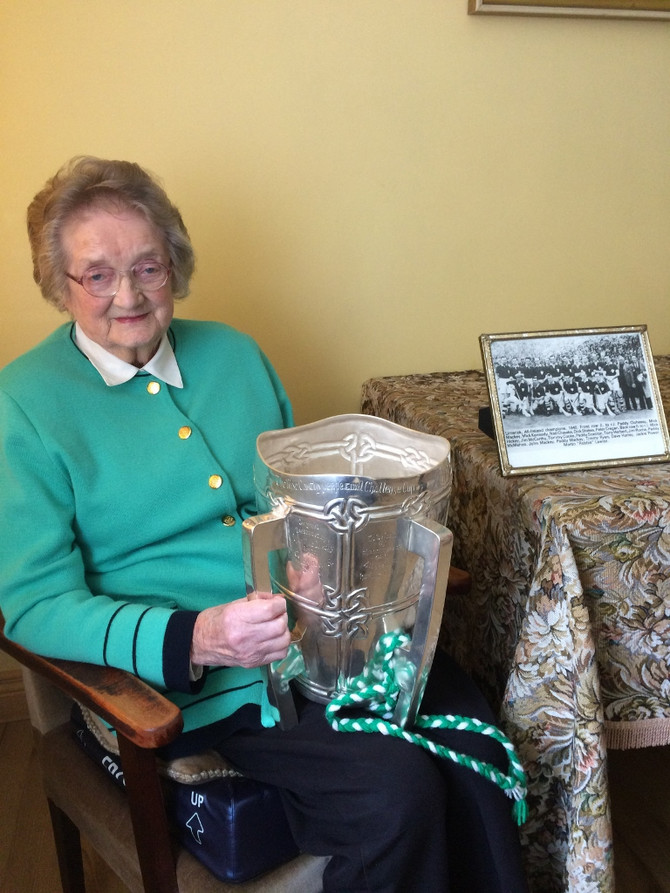 Limerick Ladies, Junior Footballers, bring another All-Ireland Cup to the County..