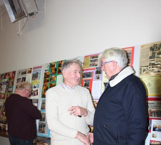 Donie O'Connor & Fr. tim