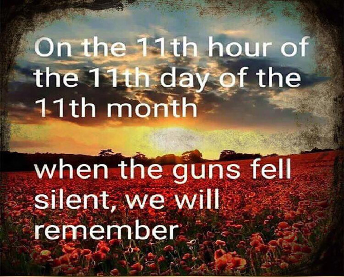 LEAST WE FORGET....
