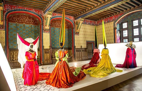 Artechnic Pierrefonds château costumes de scène