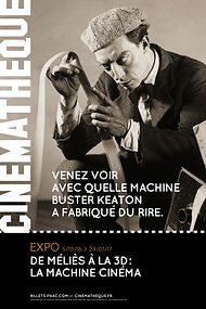 Artechnic Cinémathèque française la machine cinéma