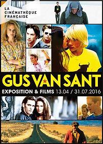 Artechnic Cinematheque Gus Van Sant museographie