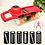 Thumbnail: Mandoline Vegetable Fruit Slicer Grater Cutter Peeler Multifunctional.