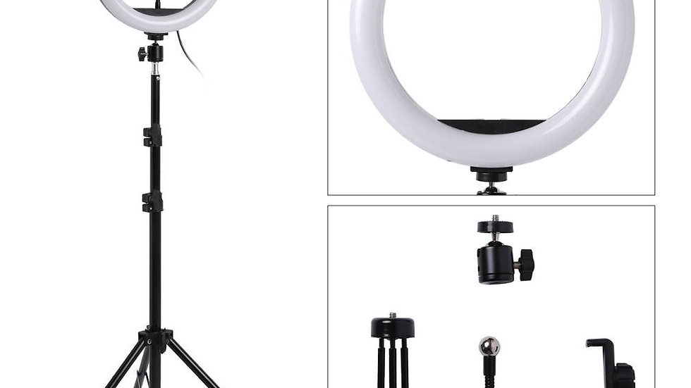 LED Ring Light. 10inch Dimmable Camera Phone Ring Tripod. Makeup. Videos. Live.