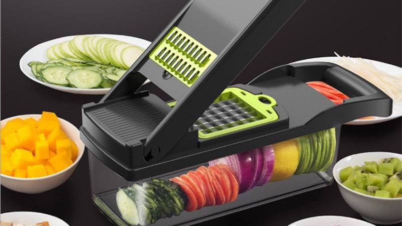 Mandoline Vegetable Fruit Slicer Grater Cutter Peeler Multifunctional.
