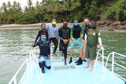 Monitore arrecifes PN Manuel Antonio
