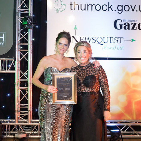Winner Thurrock Business Women of the Year 2018
