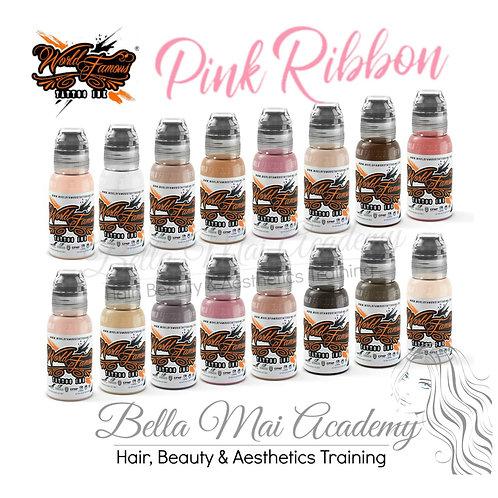 Pink Ribbon Set 16 Pigments