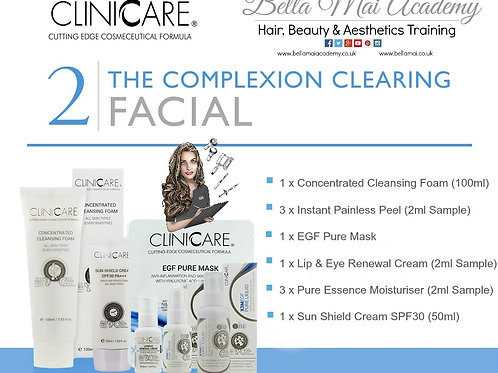 Home Facial Kit 2: -Complexion Clearing