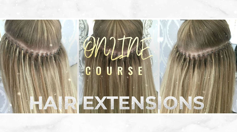 online hair extension training