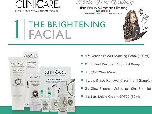 Home Facial Kit 1: - Brightening
