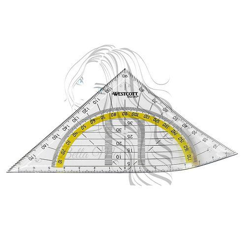 Flexible Plastic Triangle