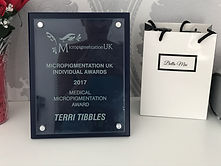 Winner Medical Micropigmentation Award 2017