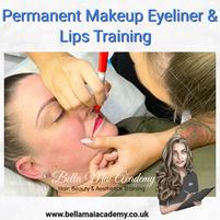 Permanent Makeup Eyeliner & Lips Training