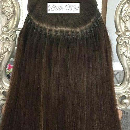 "Indian Micro Ring Hair 18, 20 & 24"""