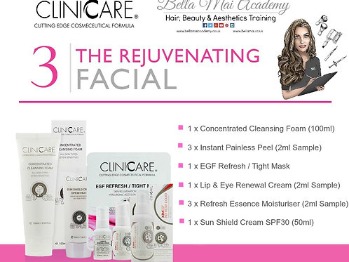 Home Facial Kit 3: - Rejuvenating