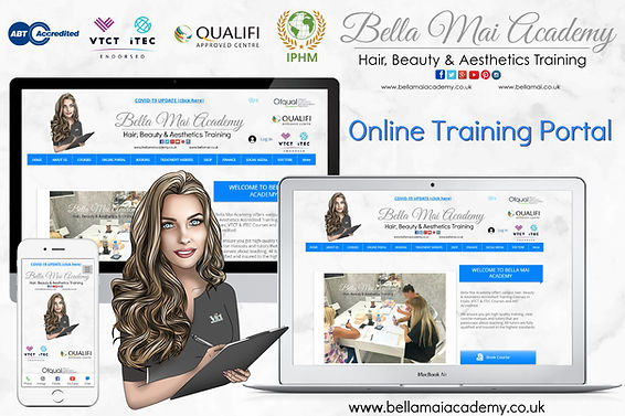 Online Training Portal Hair and Beauty