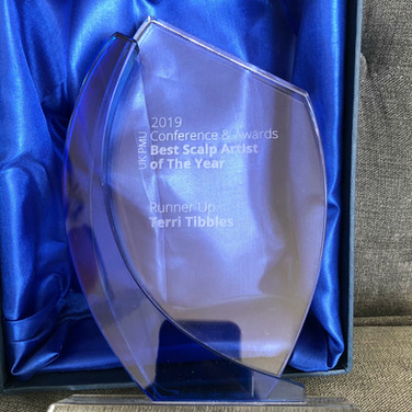 Runner Up Scalp Artist of the Year 2019