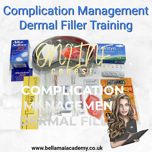 Complication Management Dermal Filler Training