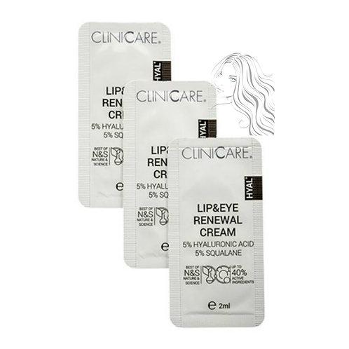 Lip & Eye Renewal Cream Sample