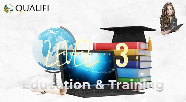 QUALIFI Level 3 Education and Training