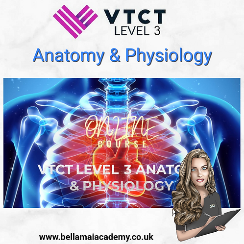 VTCT Level 3 Anatomy & Physiology Training