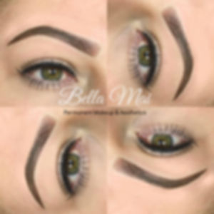 Permanent Makeup Ombre Eyebrows