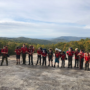 Stone Mountain Backpacking