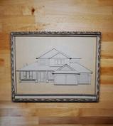 Cardboard Custom House AT1 - @alinescard