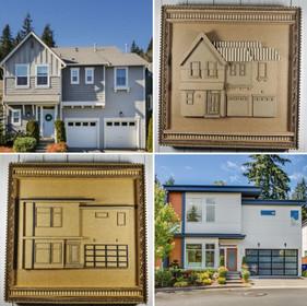 Custom order - Houses