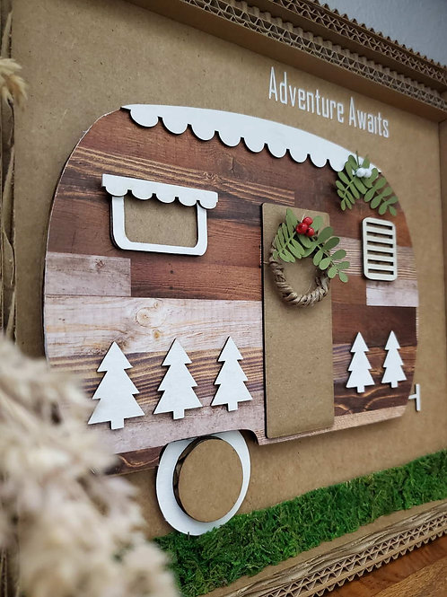 Camper Trailer - Christmas