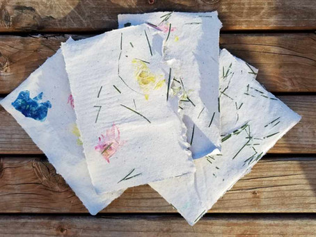 How to make your own paper?