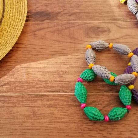 DIY - Corrugated Paper Bracelet