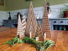 How to: Make cardboard Trees