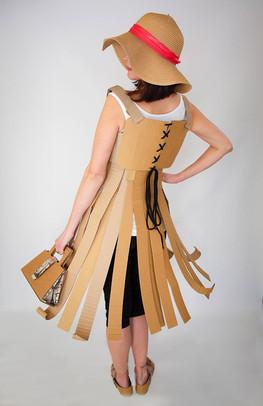 Cardboard Dress D3 - @alinescardboard